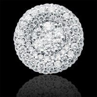 Colgante. Oro blanco 18K